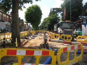 Yardley Rd Roadworks
