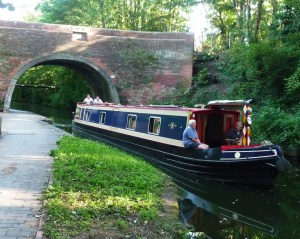 Summer on the Grand Union Canal, Acocks Green