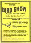 Bird Show Information