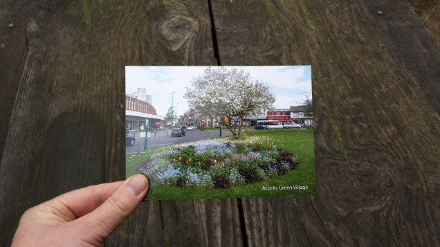 Exclusive Acocks Green Postcard