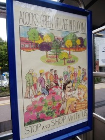 Village in Bloom Poster at Acocks Green Train Station