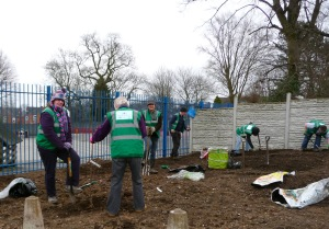 Diggers United - fresh air, exercise and community spirit!