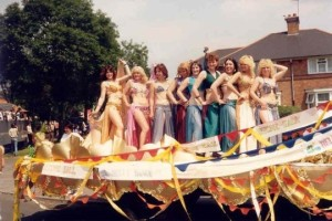 Stone Hall's Carnival Float 1987. Photo courtesy of Acocks Green History Society