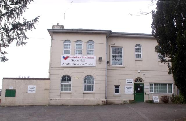 Birmingham Adult Education Centre - Stone Hall, Acocks Green