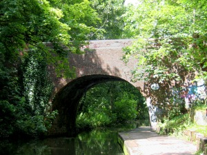 Old Vineries Bridge. Woodcock Lane, 1794