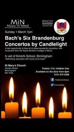 candlelight bach