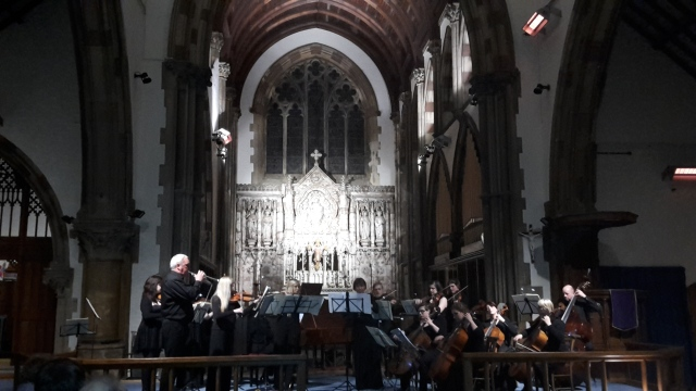 Royal Northern College of Music perform Bach's Brandenburg Concertos at St Mary's Church