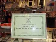 Best Shop Front Certificate