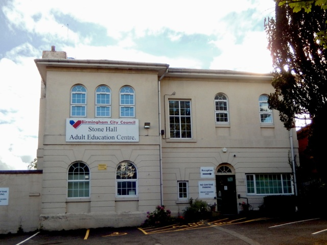 Stone Hall Adult Education Centre, Warwick Rd.