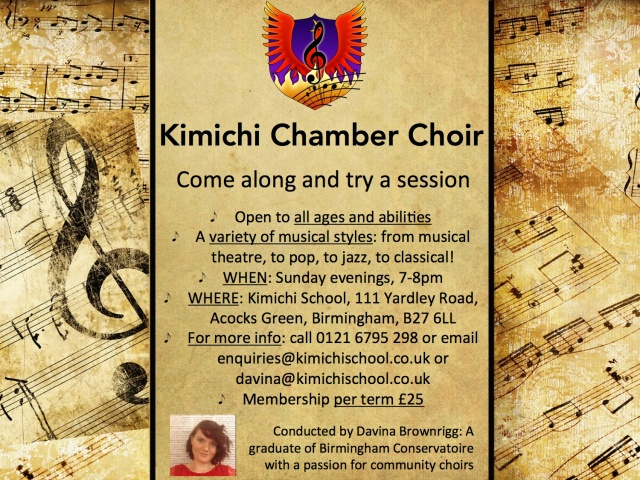 Kimichi Chamber Choir Poster jpeg