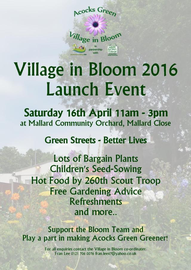 bloom launch poster2016