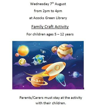 Family Craft Activity Poster JPEG