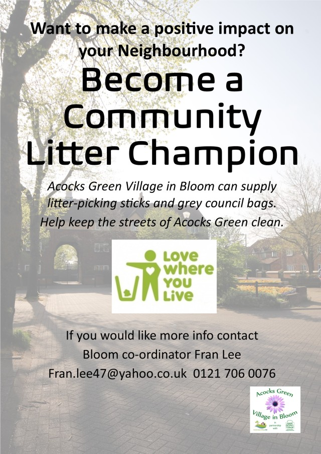 community litter champion AG