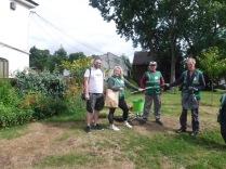 New volunteer litter-pickers